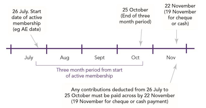 Automatic enrolment Detailed guidance 5: An explanation of the automatic enrolment process Fig 6
