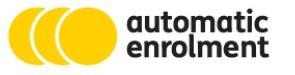 Automatic enrolent logo