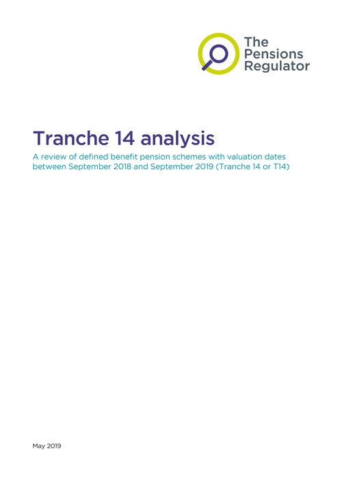 An example of a front cover of an analysis document
